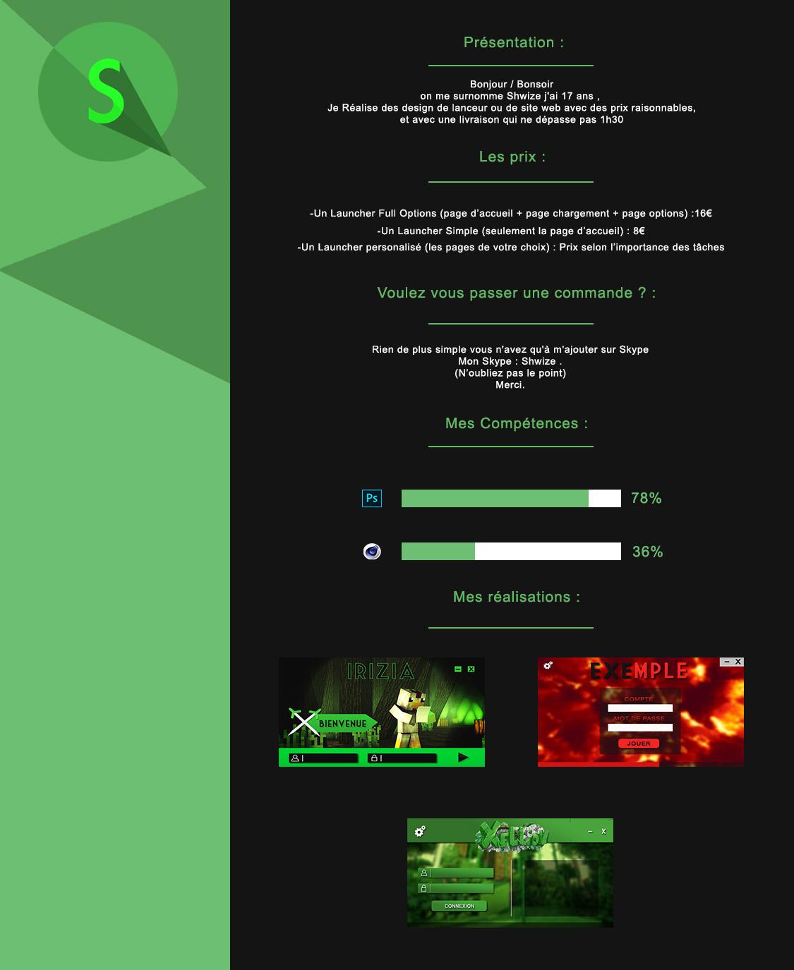 cv -   infographie