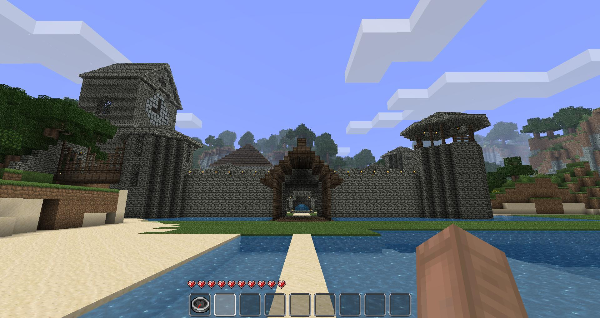 Map chateau magnifique minecraft france - Chateau de minecraft ...